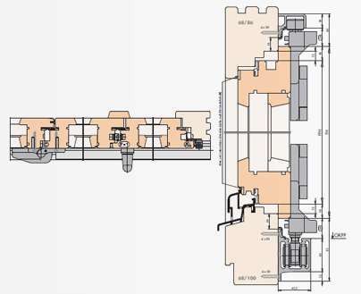 FS terasinės durys